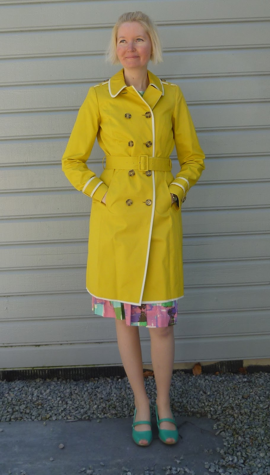 Colour makes people boden by me for Boden yellow coat
