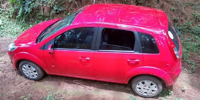 Veiculo roubado em Iretama foi recuperado em Turvo