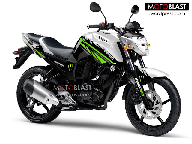 Foto Modifikasi Yamaha Byson Monster Energi 2015