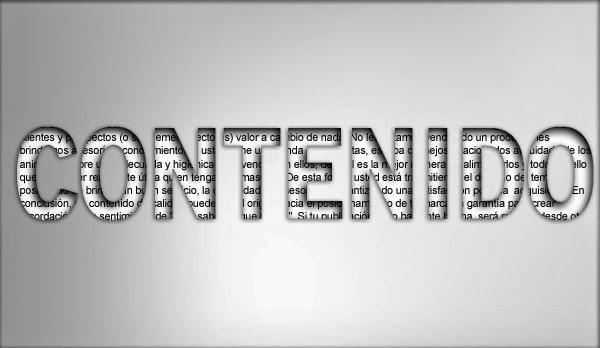 La importancia del contenido en el blog