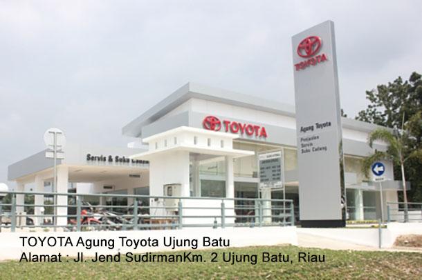 HARGA Agung TOYOTA Ujung Batu, Riau