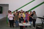 8 dic, festejando a Asaf en Mujeres Fuertes