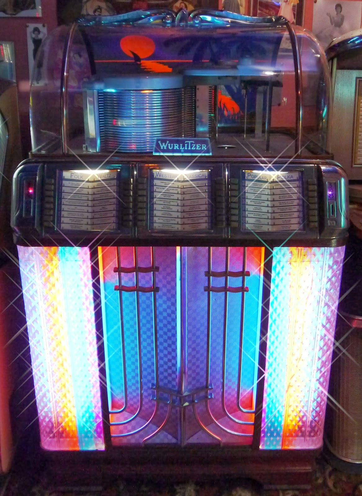 'Wurlitzer 1400' 1951 Jukebox