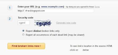 cara mudah mengatasi broken link dengan fitur seo blogger
