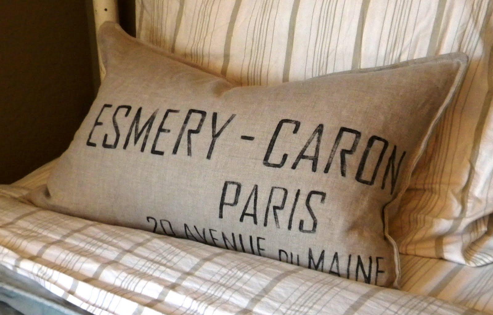 Grand Design: Restoration Hardware pillows