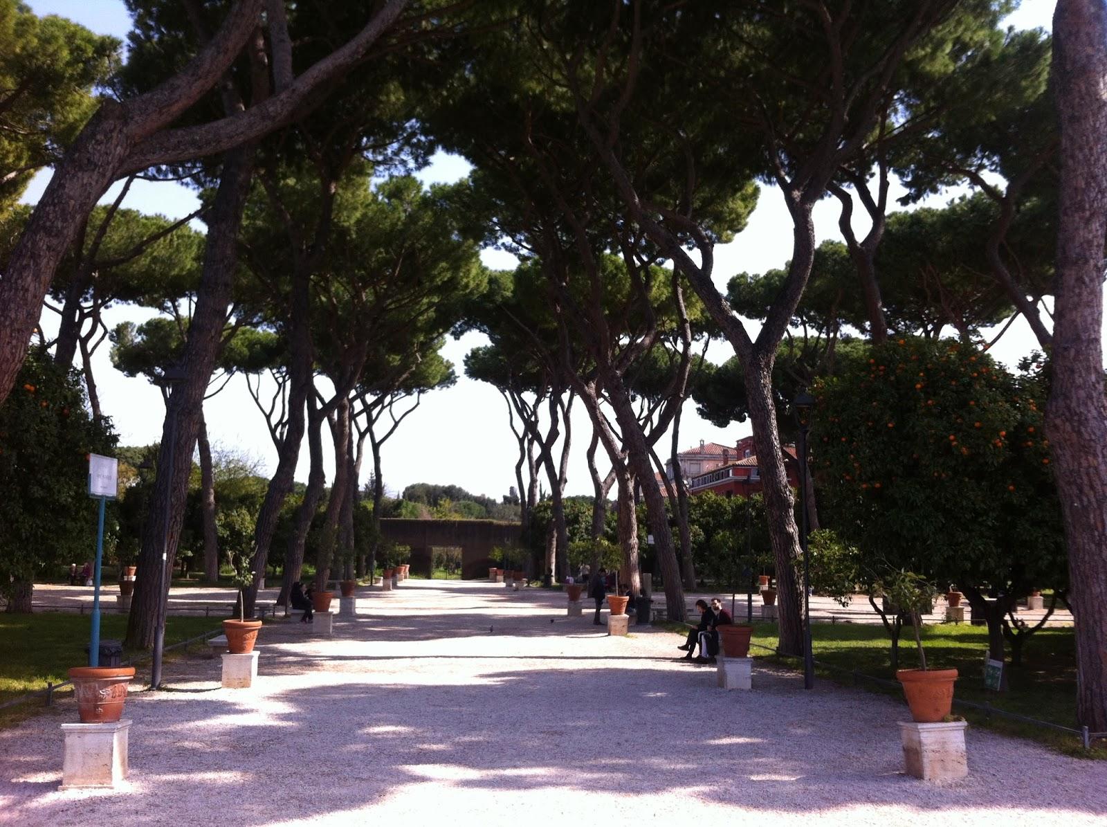 Romantic rome il giardino degli aranci romability - Il giardino degli aranci frattamaggiore ...