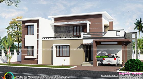 2200 sq-ft contemporary house plan
