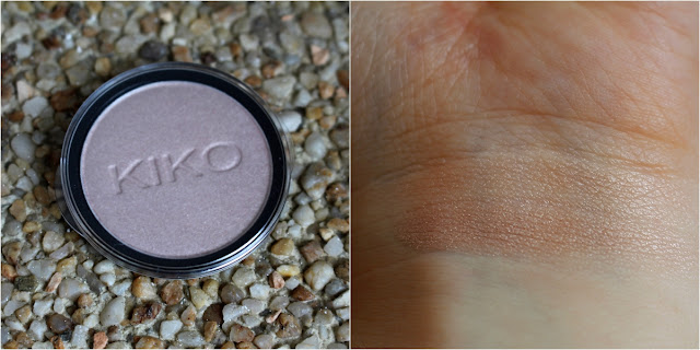 Swatch Infinity eyeshadow kiko 236 pearly champagne