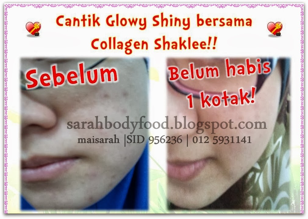 ♥ COLLAGEN POWDER SHAKLEE ♥