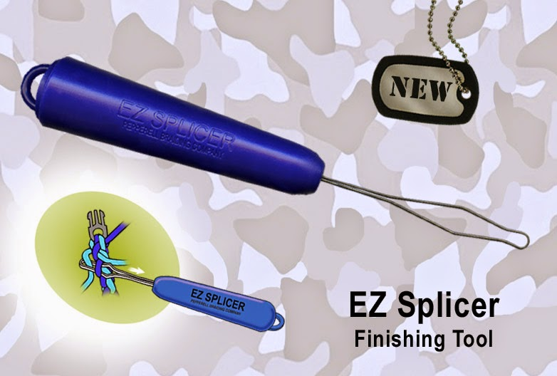 EZ Splicer Paracord Finishing Tool from Pepperell Braiding Company