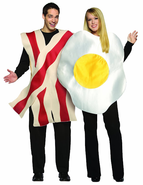 Rasta Imposta Bacon and Eggs Couples Costume  sc 1 th 255 & Mens Halloween Costumes Couples