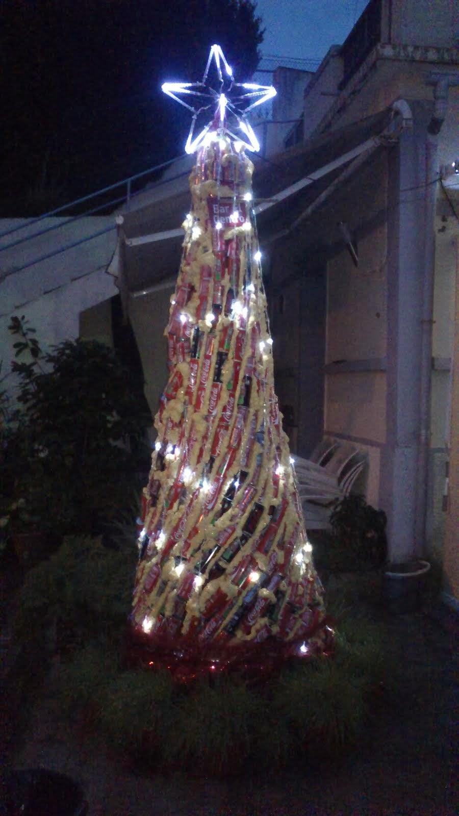 Uma árvore Natal original