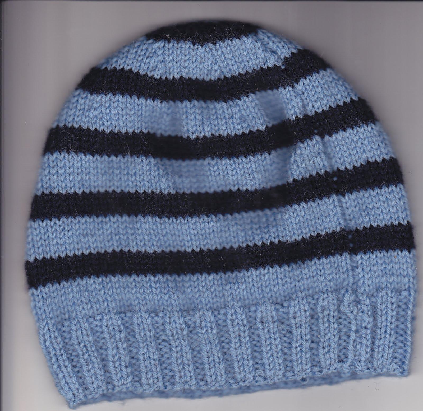 modele tricot bonnet bebe 6 mois