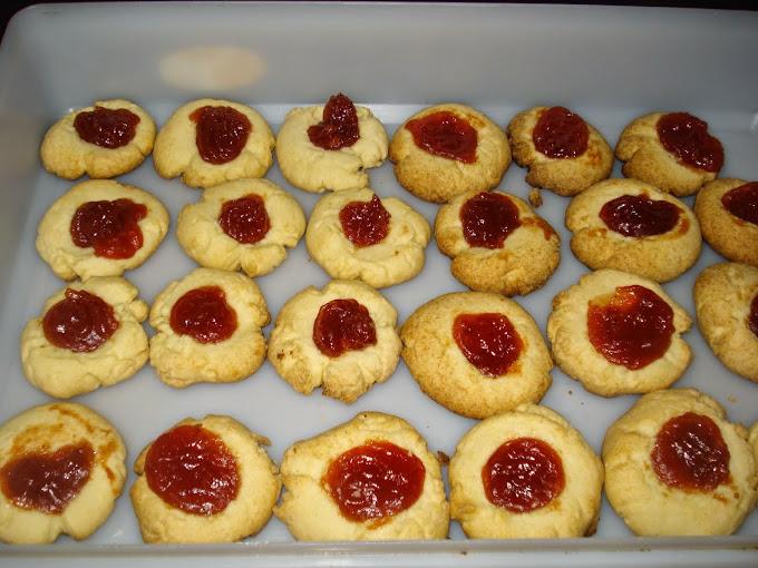 "Hoy en mi blog de cocina :"" Pepas de dulce de membrillo """