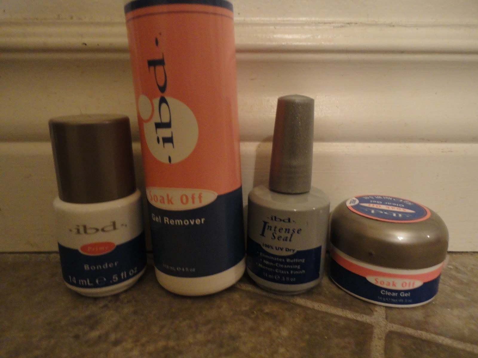 Here Are The Ibd Nail Products I Purchased Off Ebay Meant To Order Soak Clear Builder Gel But Shipper Sent Me