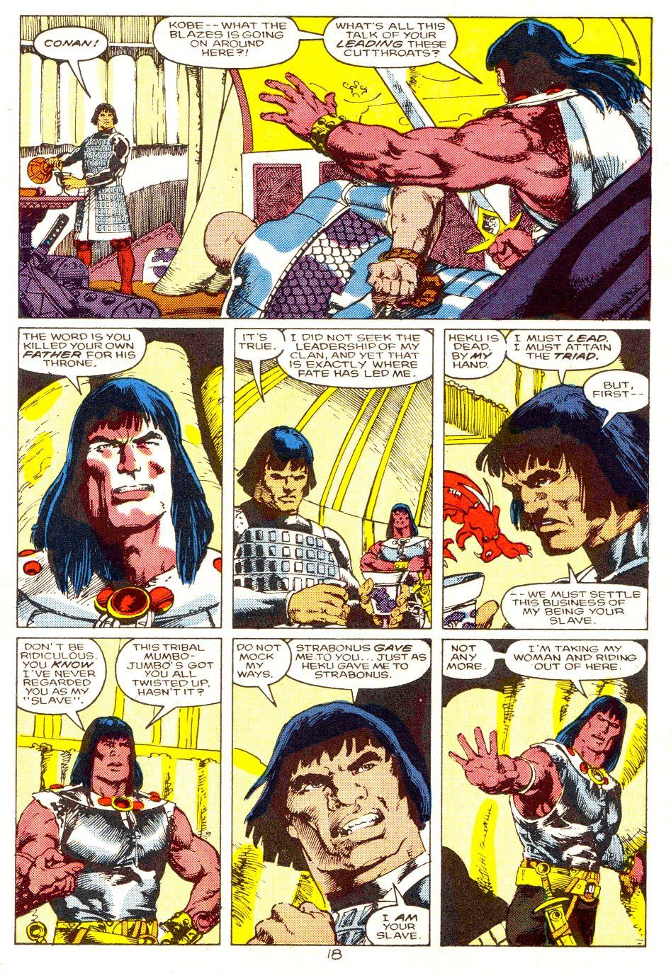 Conan the Barbarian (1970) Issue #207 #219 - English 15