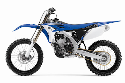 2012 Yamaha YZ250F Blue Motocross - Offroad