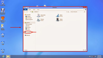 Learn how to disable show or don't show hidden files and folders in windows 8 step5