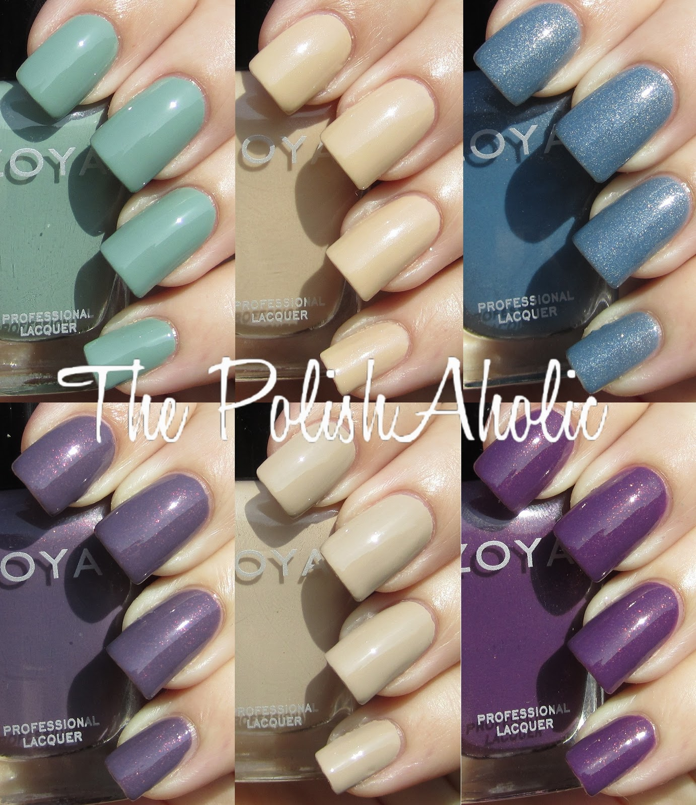 The polishaholic zoya spring 2012 true collection swatches zoya spring 2012 true collection swatches reheart Gallery