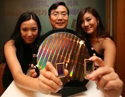 Samsung-NAND-Wafer