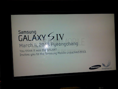Samsung Galaxy S 4 event