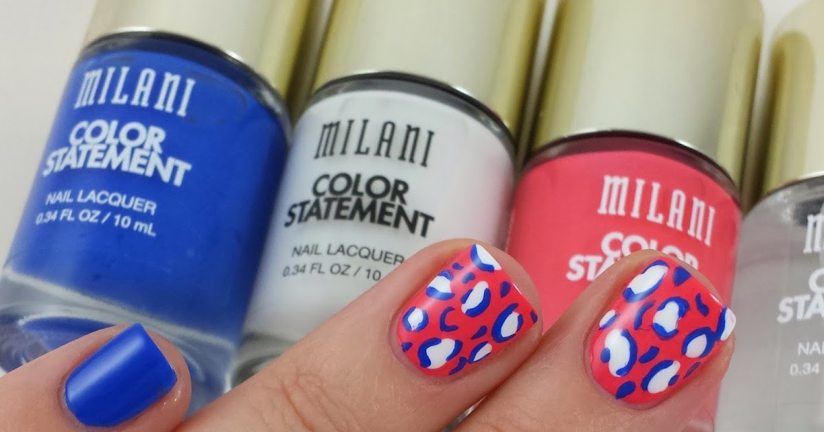 Pinky Nail Painted Blue