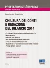 Chiusura dei conti e redazione del bilancio 2014