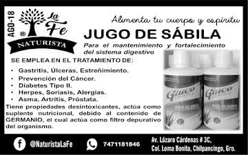 JUGO DE SABILA