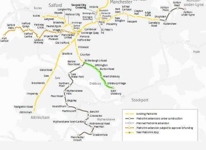 Image Gallery Metrolink Lines