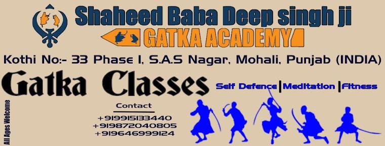 Shaheed Baba Deep Singh Ji Gatka Academy Sector 40(Chandigarh)