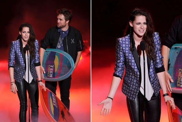 Kristen Stewart's Leather Pants at the Teen Choice Awards » Gossip | Kristen Stewart