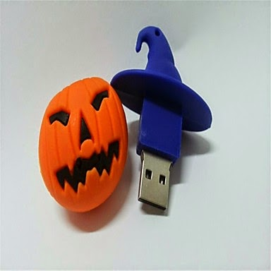 Memoria USB 8 GB Calabaza de Halloween