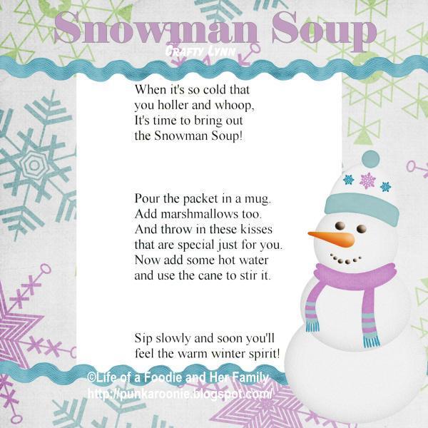 Snowman Soup Poem Snowman soup 2011