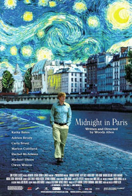 Meia Noite em Paris, de Woody Allen
