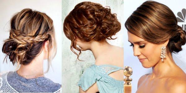Easy Hairstyles For Medium Hair Formal : Pretty prom hairstyle ideas for medium hair