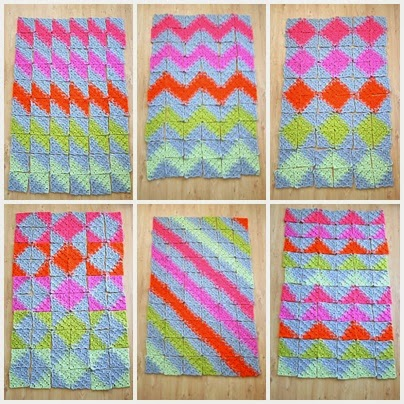 Jigsaw Blanket Knitting Pattern : CROCHET PUZZLE BLANKET PATTERN FREE CROCHET PATTERNS