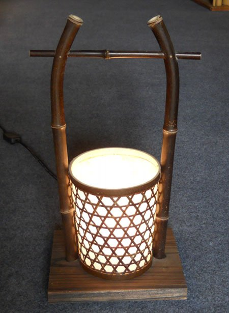 Bamboo Craft Lamp For Bedroom Or Livingroom