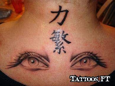 Desenhos de Tatuagens Femininas de Olho