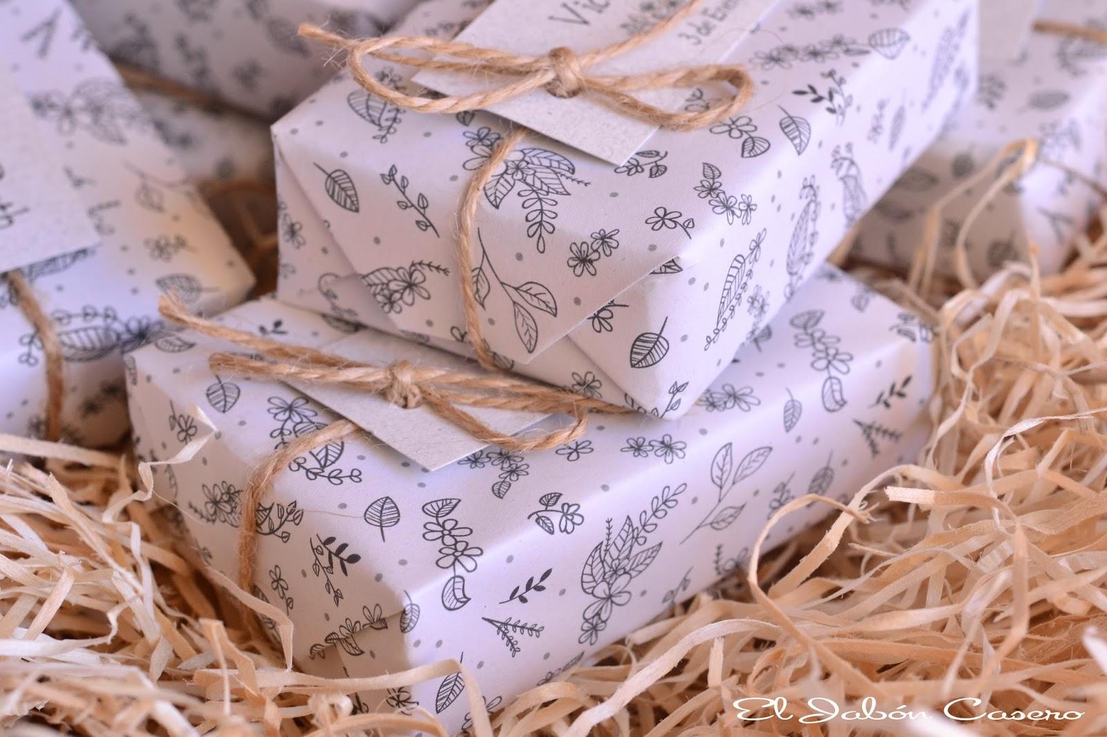regalos para invitados jabones rusticos