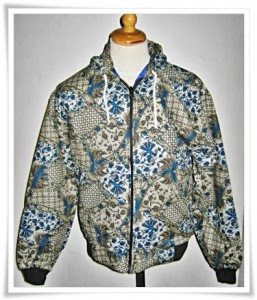 Model Baju Jaket Batik Terbaru 2015