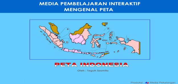 peta indonesia swf, propinsi swf dan ibukota propinsi swf indonesia, media belajar interaktif