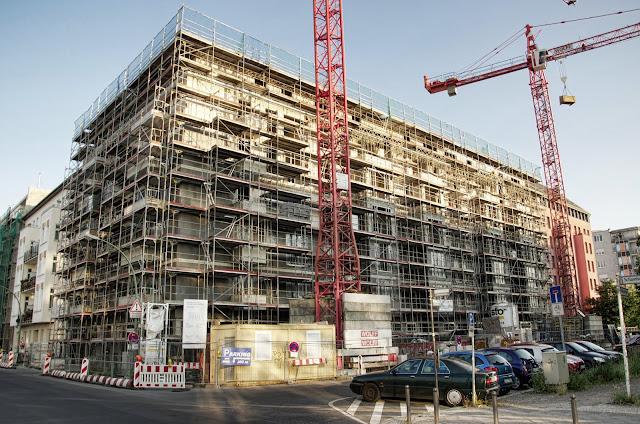Baustelle Neubau Wohn- und Geschäftshaus, Kieler Straße 5, 10115 Berlin, 07.07.2013