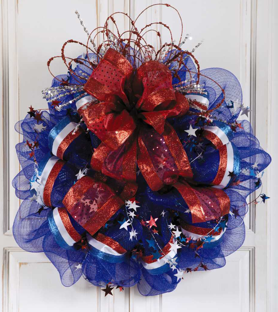 Deco Mesh Wreath Patterns