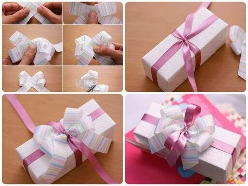 how to make wrap a hand watch gift