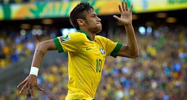 Neymar, Mundial Brasil 2014, parte 1