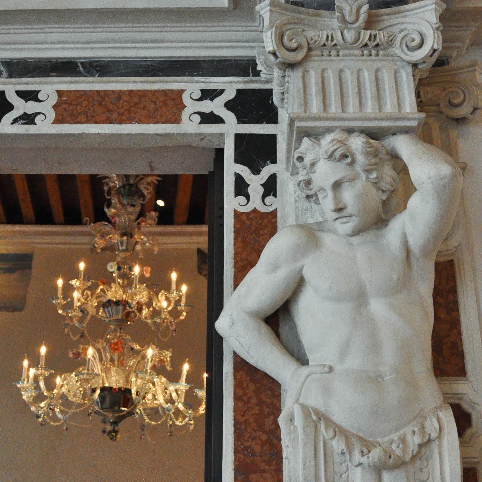 Inside Gallerie D'Italia in Palazzo Leoni Montanari, Vicenza, Italy