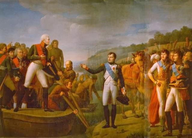 Paz Tilsit Napoleon Alejandro