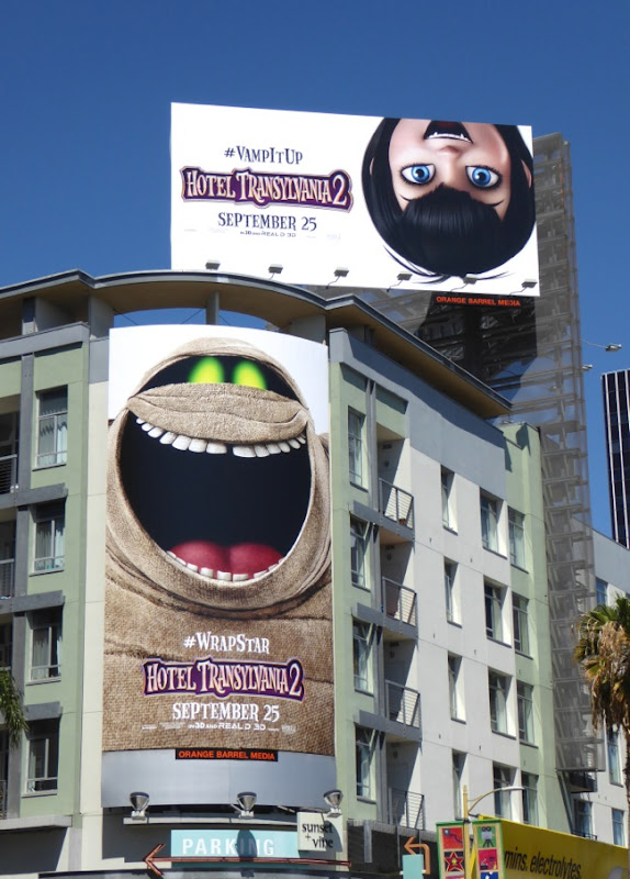 Hotel Transylvania 2 movie billboards