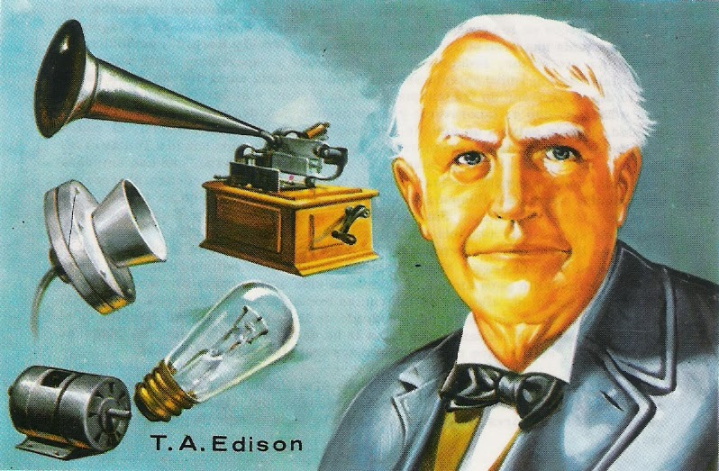 Scientist Thomas Edison Pictures