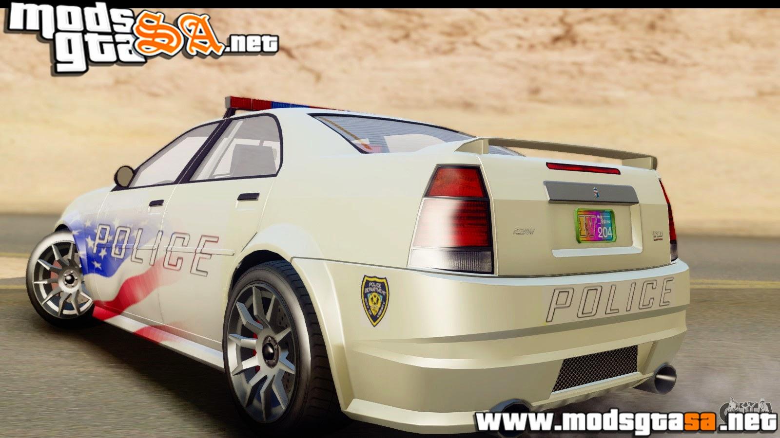 SA - Policia Albany Stinger do EFLC TBoGT